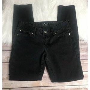 Lucky Brand black Lolita skinny jeans mid rise